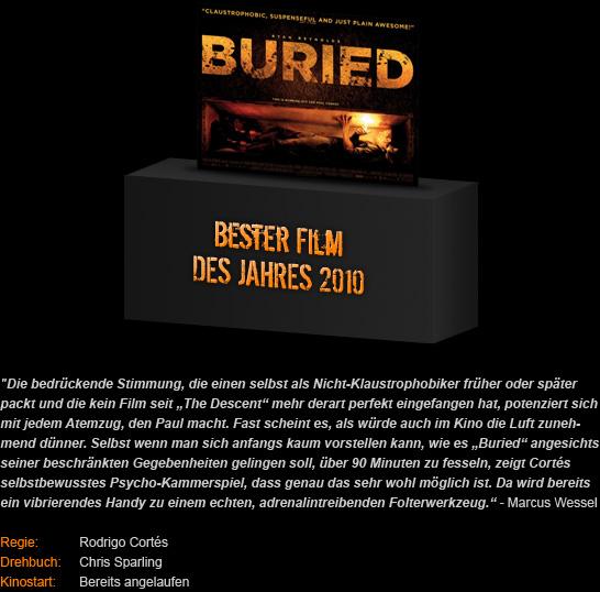 Bester Film 2010