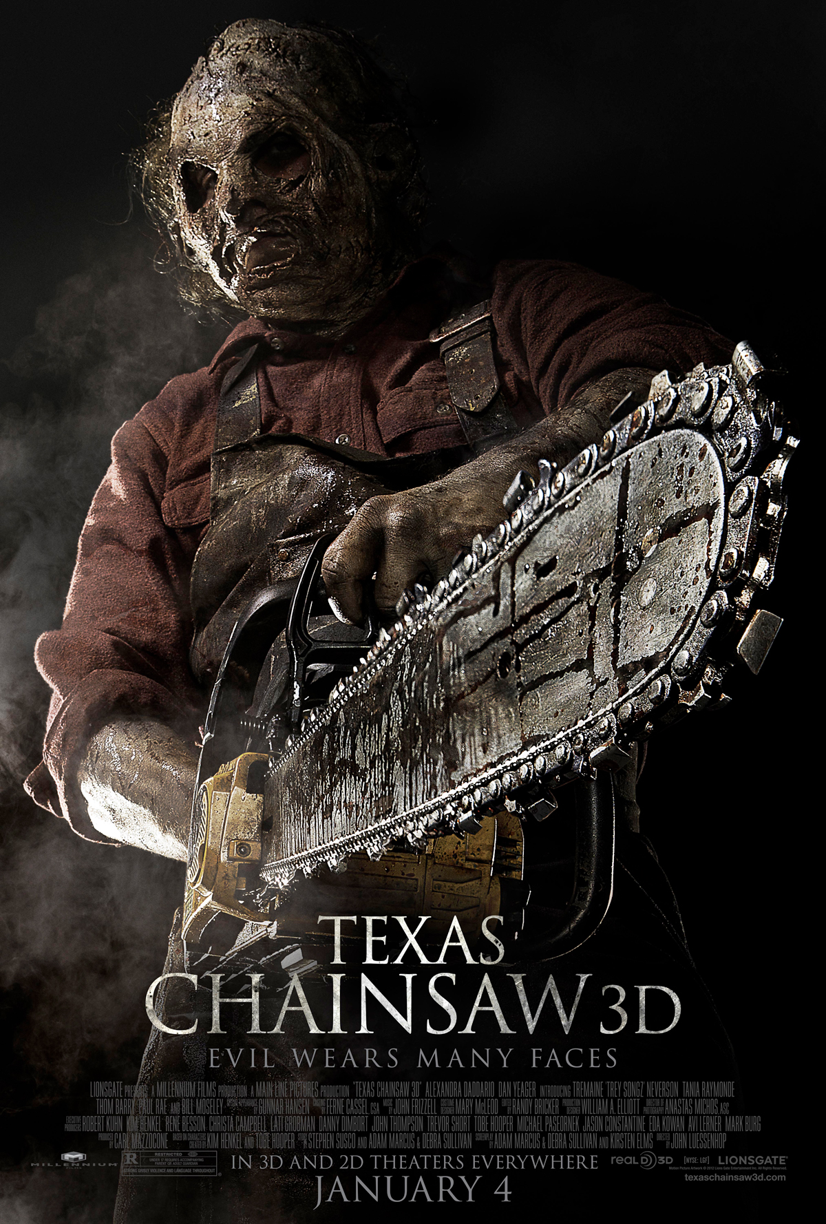 The Texas Chainsaw Massacre 3D Sales Poster