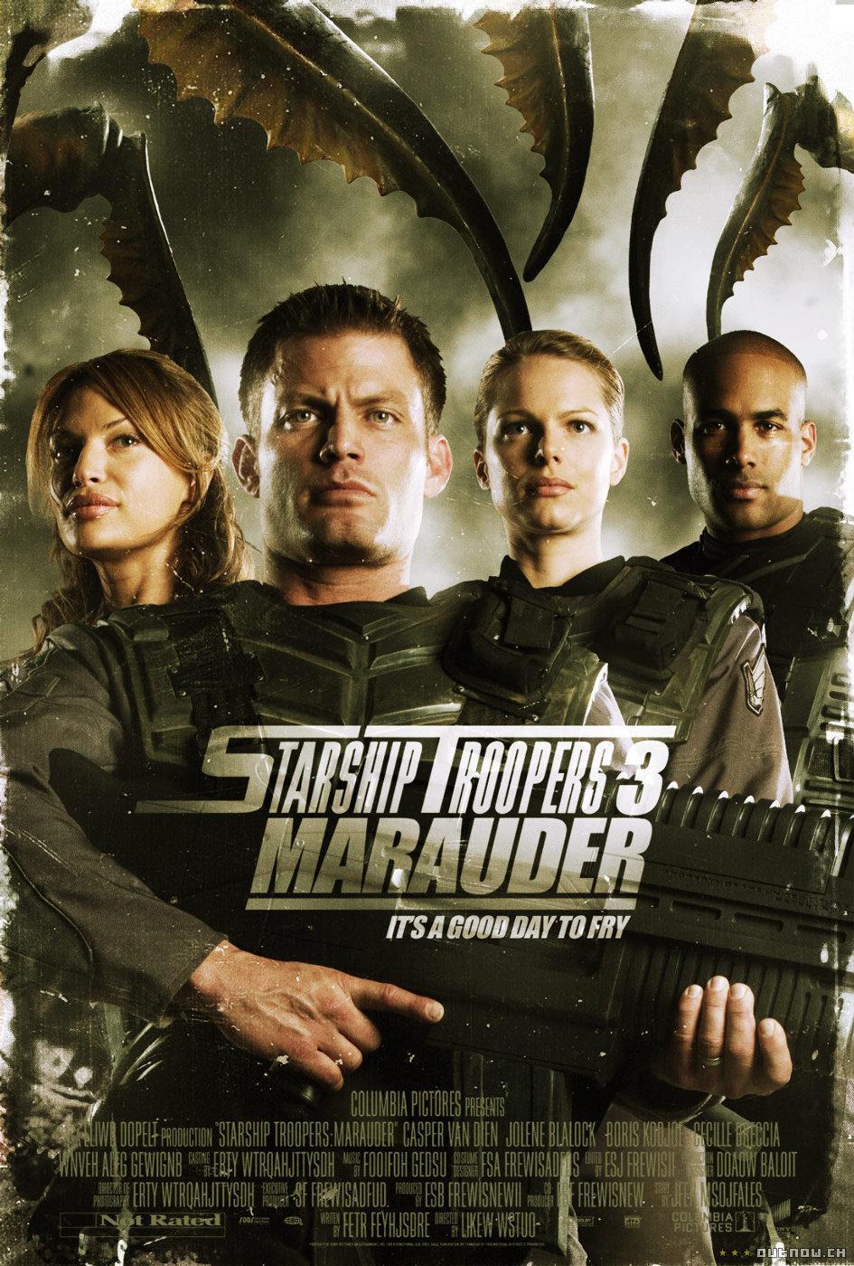 Starship Troopers 3: Marauder: Amazon.de: Casper Dien