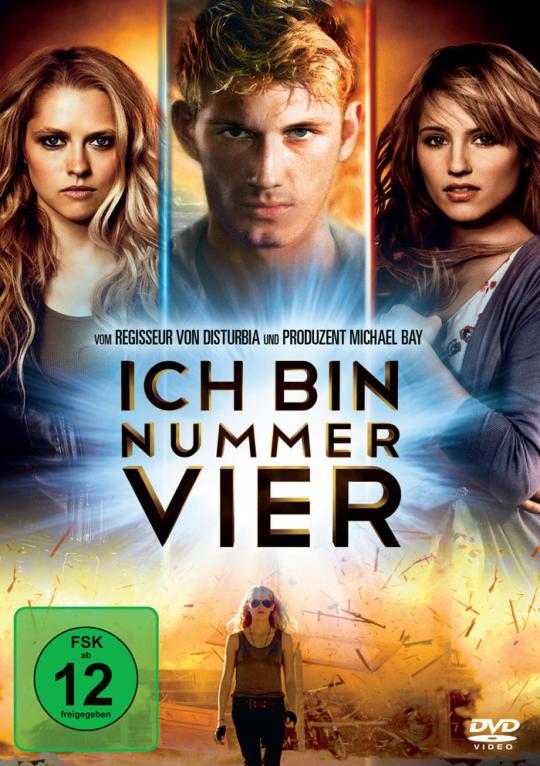 Ich bin Nummer 4 - DVD