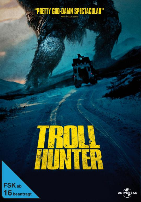 Troll Hunter DVD Cover