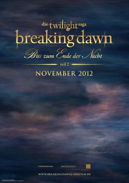Breaking Dawn - Teil 2
