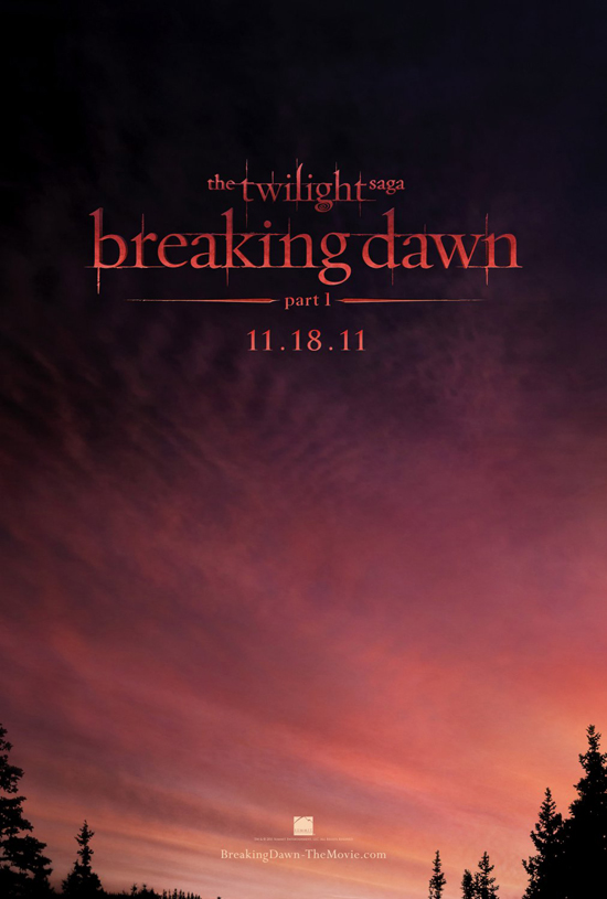 Twilight Breaking Dawn Poster