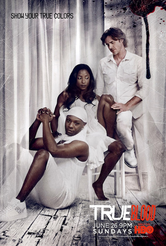 True Blood Staffel 4 Poster