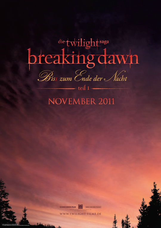 Twilight: Breaking Dawn Poster
