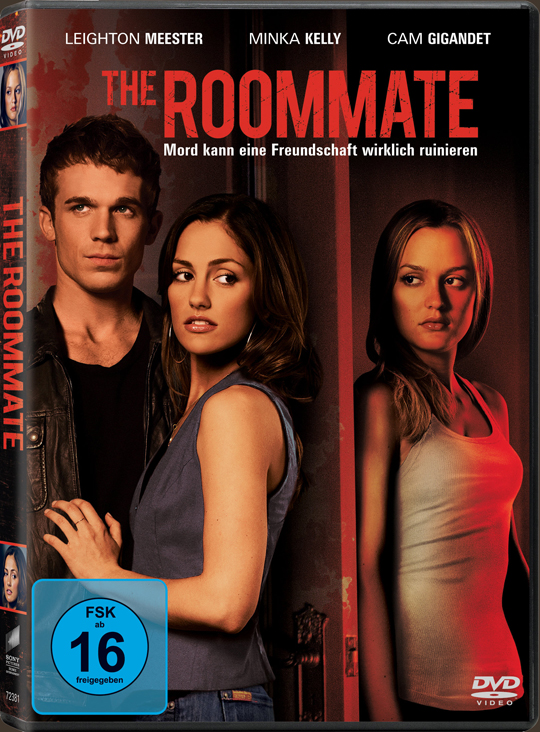 The Roommate DVD Cover