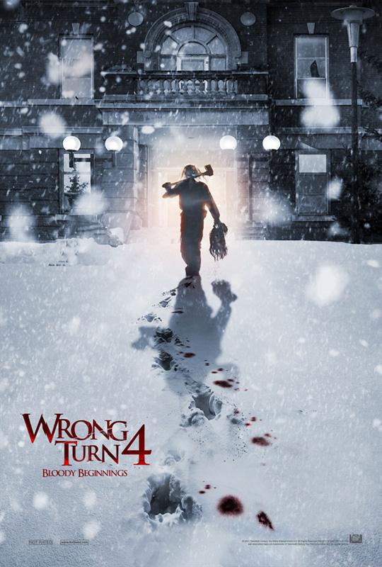 Wrong Turn 4 Poster