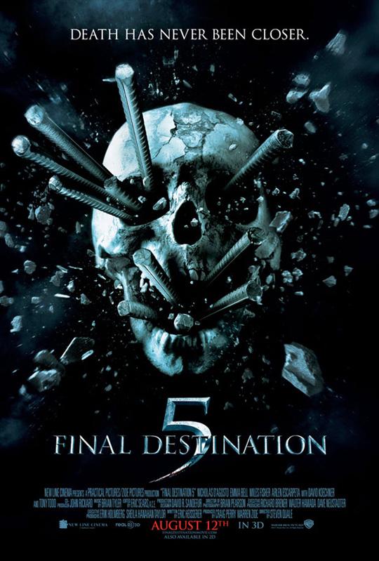 Final Destnation 5 Poster