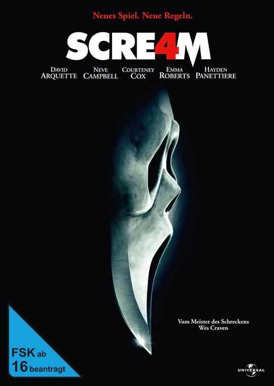 Scream 4 DVD Cover