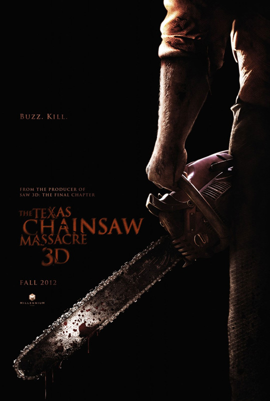Texas Chainsaw Massacre 3D Poster