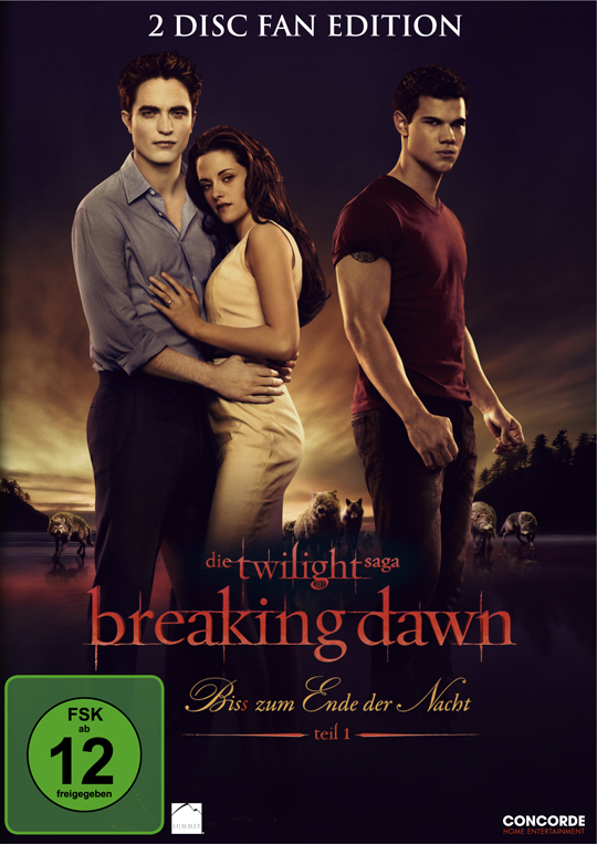 Breaking Dawn DVD