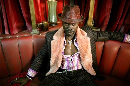 "Djimon Hounsou in ""Constantine"""