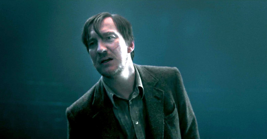 """David Thewlis in """"Harry Potter"""""""