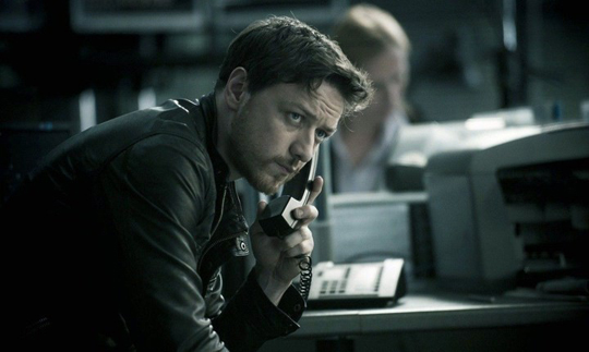 """James McAvoy in """"Welcome to the Bunch"""""""
