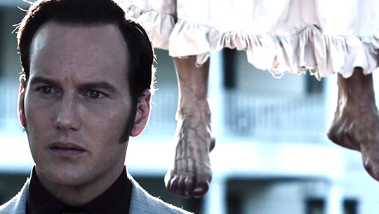 "Patrick Wilson in ""The Conjuring - Die Heimsuchung"""