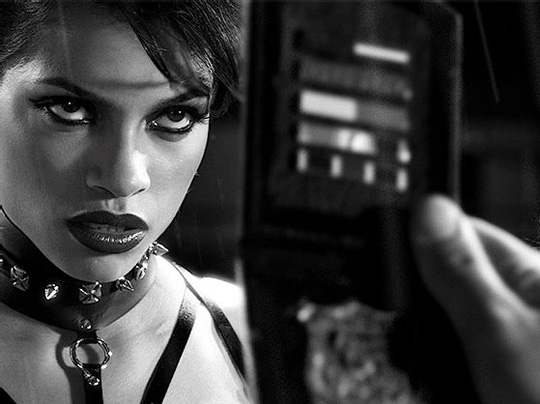 "Rosario Dawson in ""Sin City"""