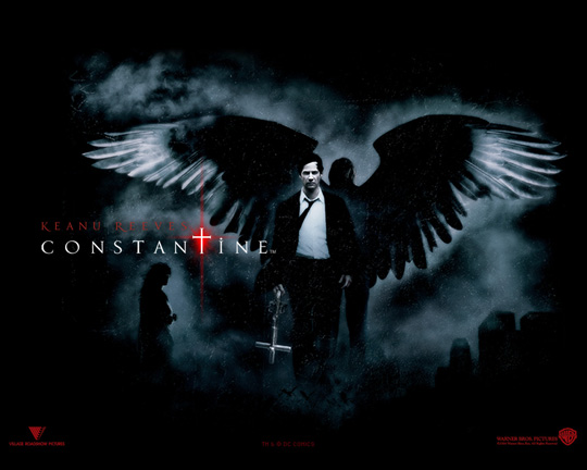 "Keanu Reeves in der Kinoadaption zu ""Constantine"""