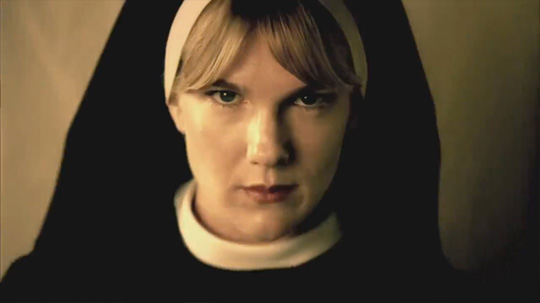 "Lily Rabe in ""American Horror Story. Asylum"""