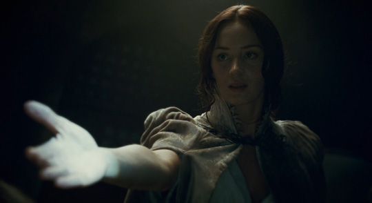 "Emily Blunt in ""Wolfman"""