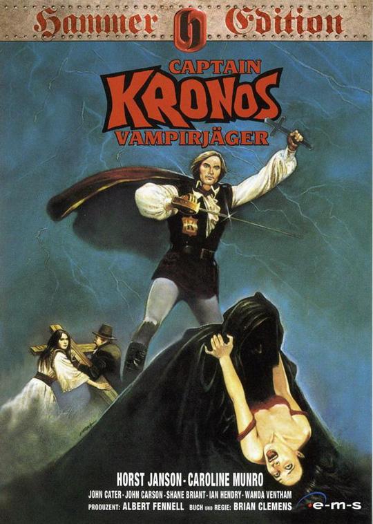 Captain Kronos - Vampirjäger - Cover