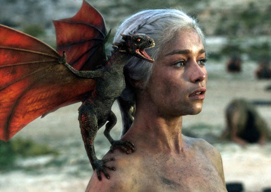 "Geister statt Drachen: Emilia Clarke in ""Game of Thrones"""