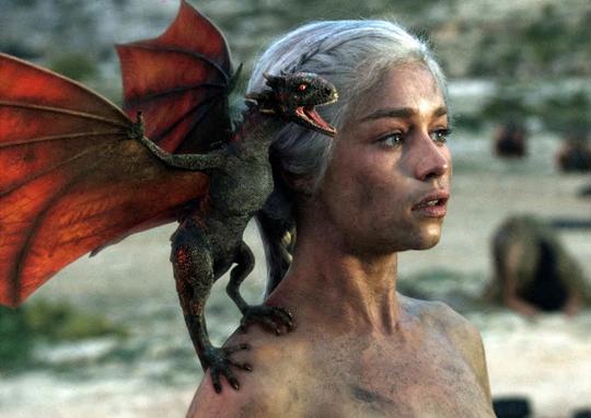 "Geister statt Drachen: Emilia Clarke in ""Game of Thrones"""