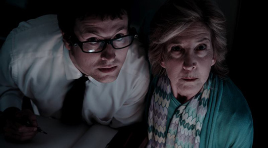 """Leigh Whannell (links) in """"Insidious 2"""""""