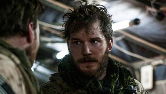 """Chris Pratt in """"Zero Dark Thirty"""""""