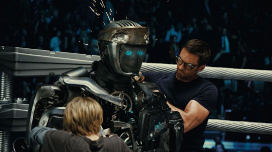 "Shawn Levys jüngstes Filmprojekt ""Real Steel"""