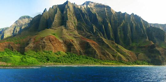 Landschaft auf Kauai