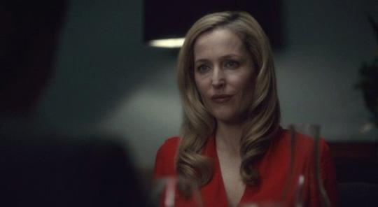"Gillian Anderson in ""Hannibal"""