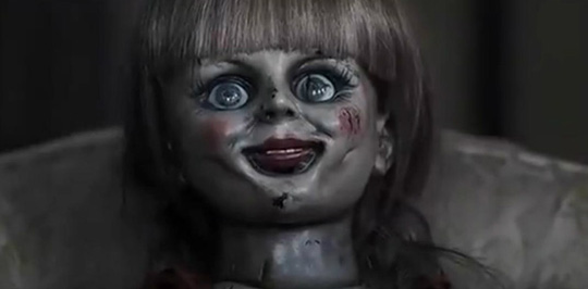 "Annabelle in ""The Conjuring"""