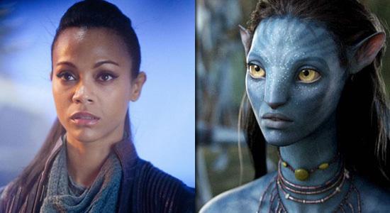 """Zoe Saldana in """"Star Trek"""" und """"Avatar"""""""