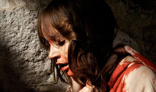 "Jocelin Donahue in ""The House of the Devil"""