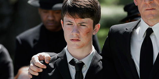 "Dylan Minnette in ""Awake"""