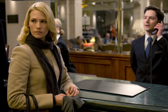 "January Jones in ""Unknown"""