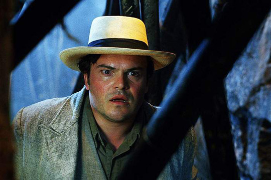 "Jack Black in ""King Kong"""