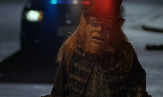 "Warwick Davis in ""Leprechaun"""