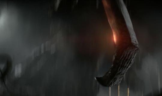 Muto in einer Szene aus dem Filmtrailer.