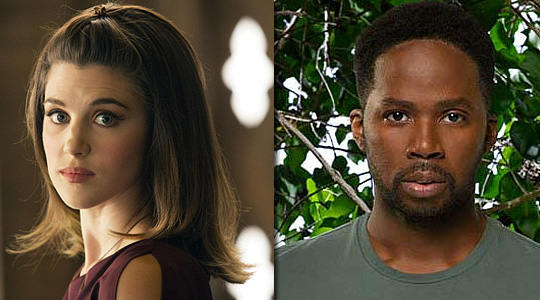 Lucy Griffiths (link, True Blood), Harold Perrineau (Lost)