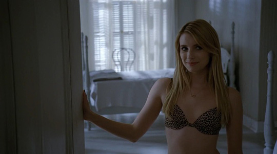 "Emma Roberts (Scream 4) in ""American Horror Story: Coven"""