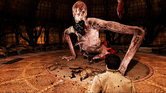 "Eine Szene aus ""Silent Hill: Homecoming"""