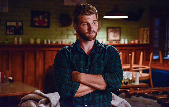 "Mike Vogel in ""Under the Dome"""