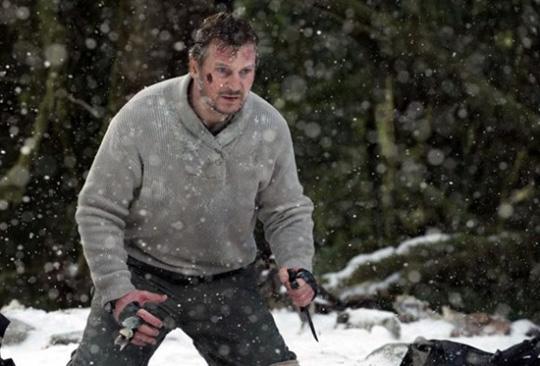 """Liam Neeson während eines tödlichen Gefechts in """"The Grey"""""""