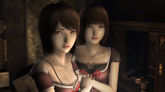 """Mio und Mayu Amakura, die Protagonisten aus """"Project Zero 2"""""""