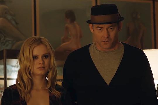 """David Koechner (rechts) neben Sarah Paxton in """"Cheap Thrills"""""""
