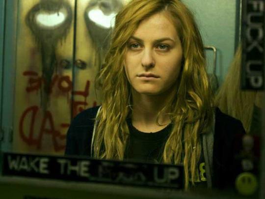 Ziemlich abgekämpft: Scout Taylor-Compton als Laurie Strode