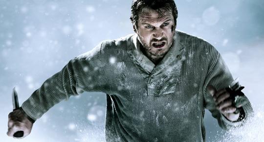 Liam Neeson auf der Flucht vor bissigen Wölfen (The Grey)