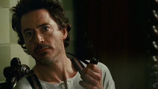 Robert Downey Jr. in seiner zweiten Paraderolle als Sherlock Holmes