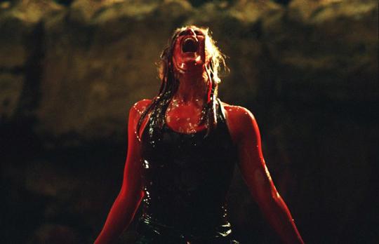 "Das nächste Blutbad wartet bereits: Shauna McDonald in ""The Descent"""